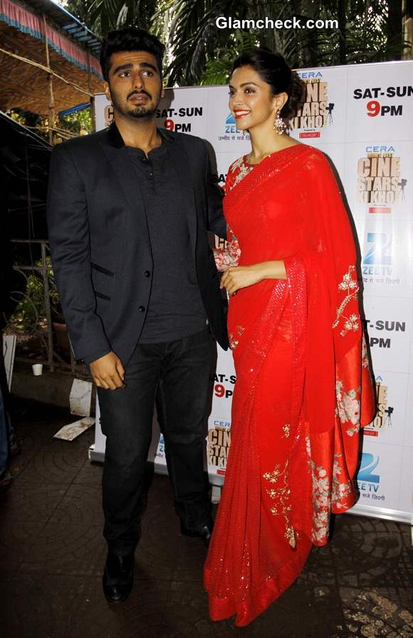 Deepika Padukone and Arjun Kapoor 2014
