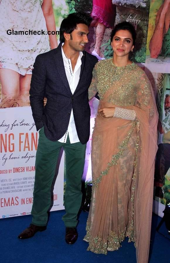 Deepika Padukone and Ranveer Singh pics 2014