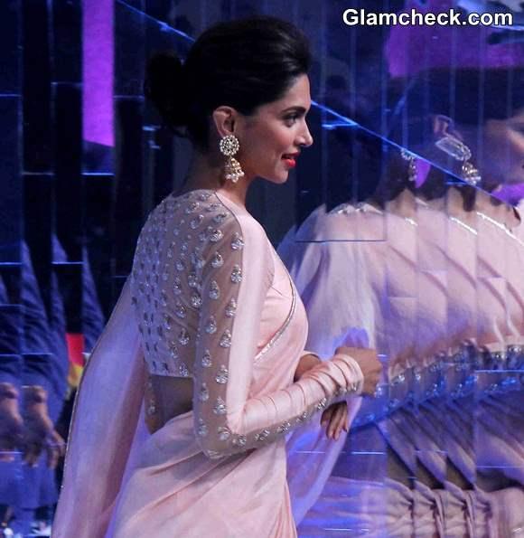 Deepika Padukone i2014 in Saree