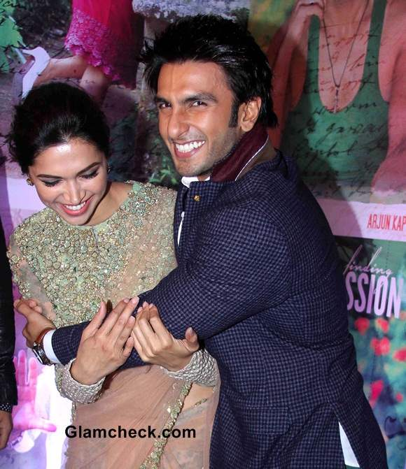 Deepika and Ranveer Singh Pics 2014