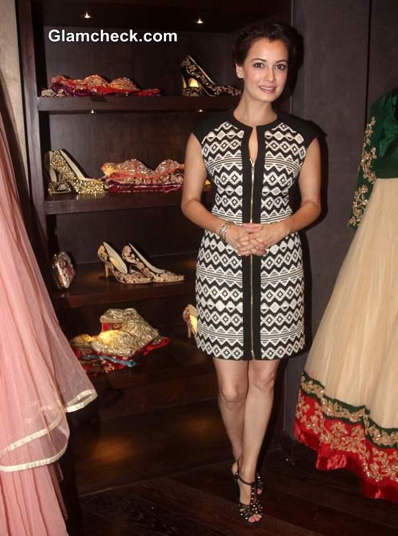 Dia Mirza at Shyamal and Bhumika Signature Studio Launch