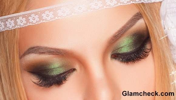 Eye Makeup How To – Emerald Green Smokey Eyes