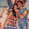 Hrithik Roshan and Katrina Kaif during the launch of the title song from their film Bang Bang