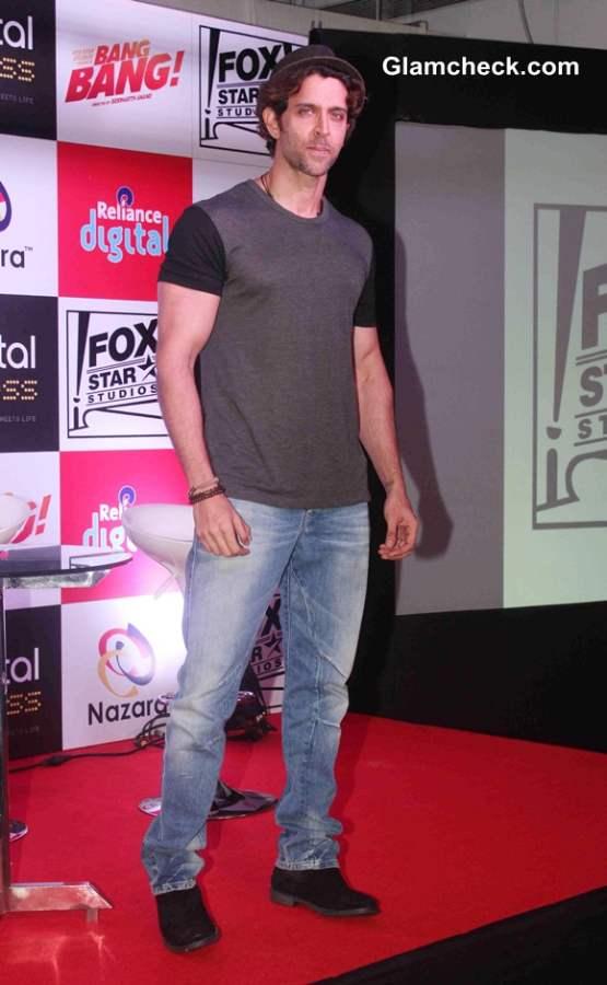 Hrithik Roshan at the launch of Bang Bang mobile game