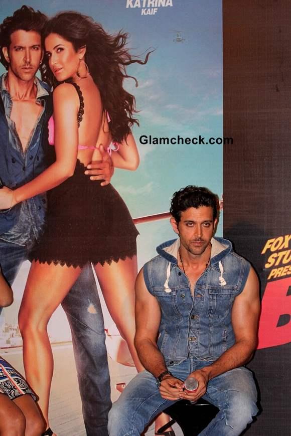 Hrithik Roshan at the launch of Bang Bang title song