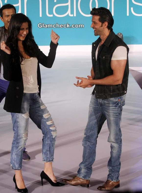 Hrithik and Katrina Promote Bang Bang
