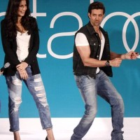 Hrithik and Katrina at Pantaloons Limited Edition Collection show