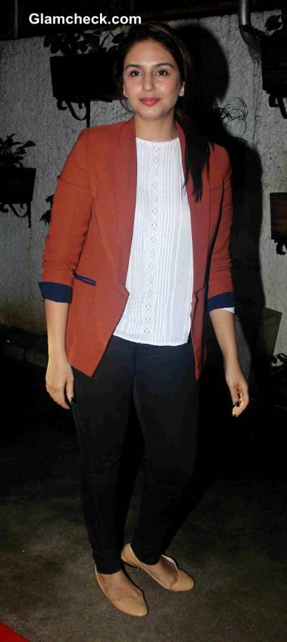 Huma Qureshi 2014 Casual style