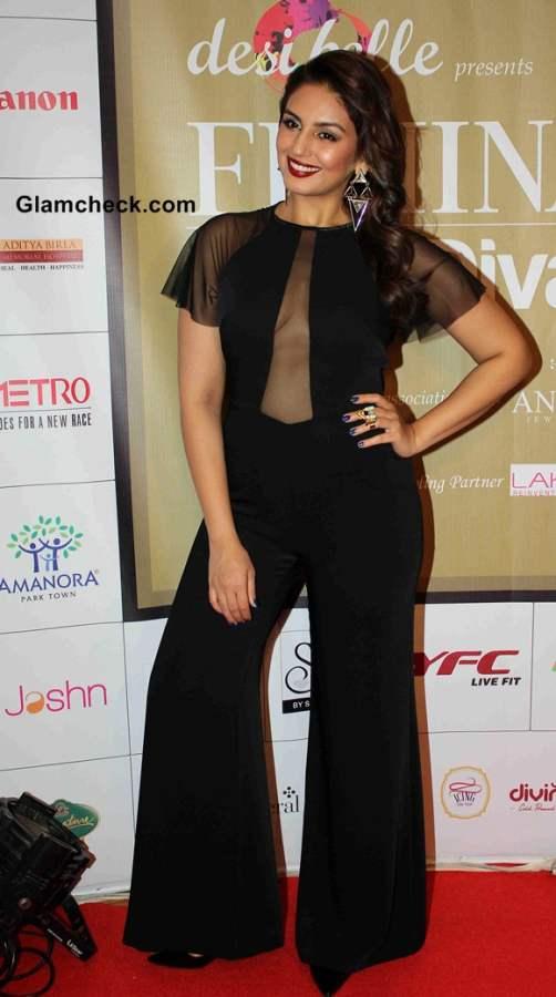 Huma Qureshi fashion during the Femina Style Diva 2014