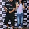 John Abraham and Nargis Fakhri t Reebok Store and Studio Launch