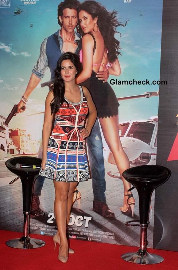 Katrina Kaif at the launch of Bang Bang title song