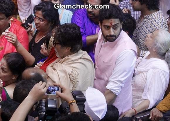 Lalbaugcha Raja 2014 Bachchan Family