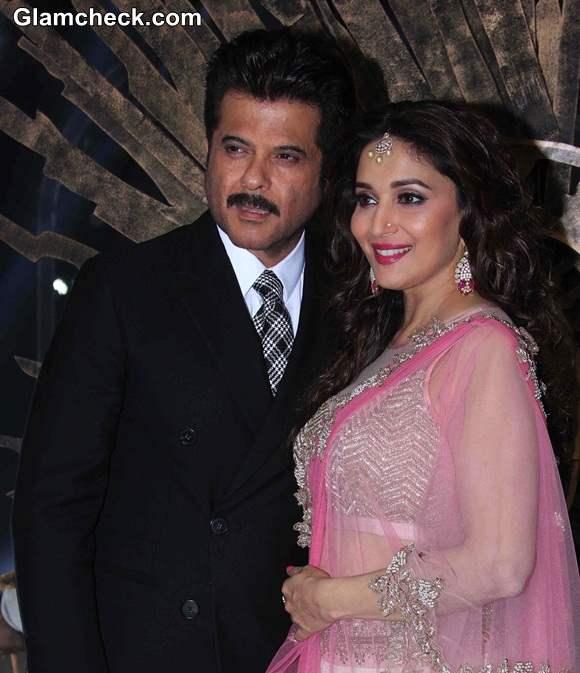 Madhuri Dixit and Anil Kapoor 2014 Jhalak Dikhhla Jaa Season 7 Grand Finale