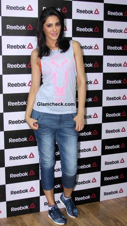Nargis Fakhri at Reebok Store and  Studio Launch