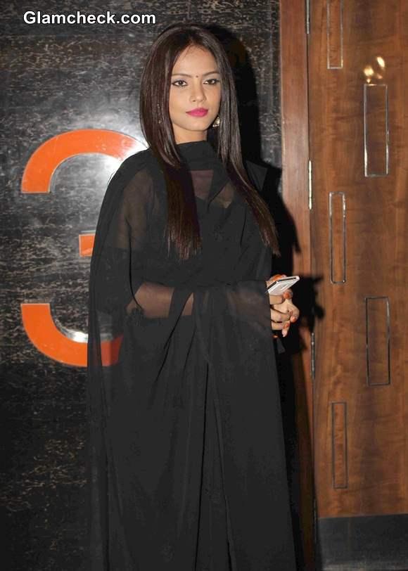 Neetu Chandra 2014 at the opening of 5th Jagran Film Festival