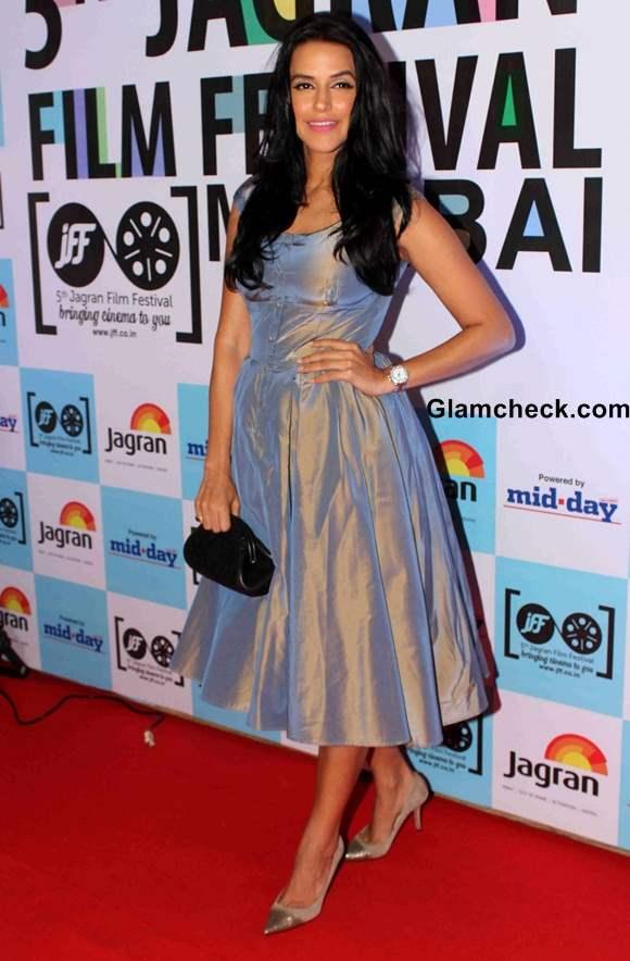 Neha Dhupia 2014 Jagran Film Festival