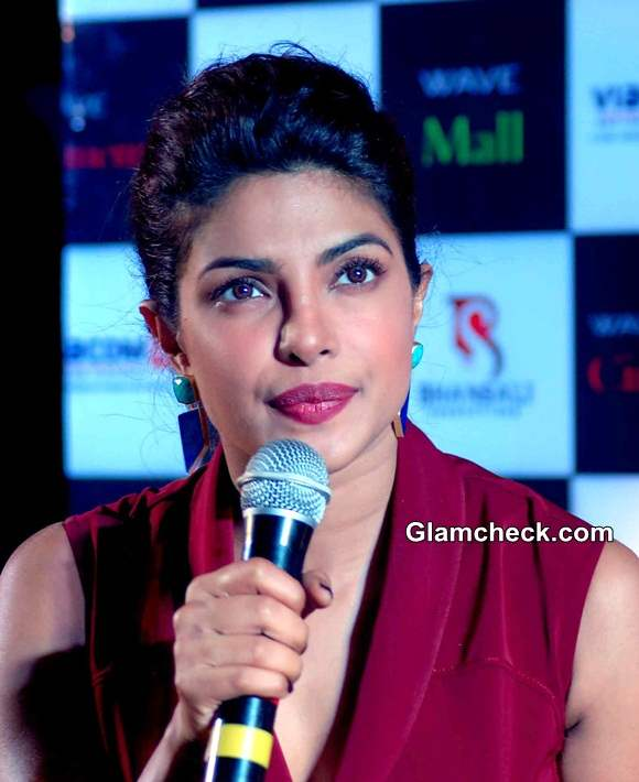 Priyanka Chopra 2014 Mary Kom Promotions