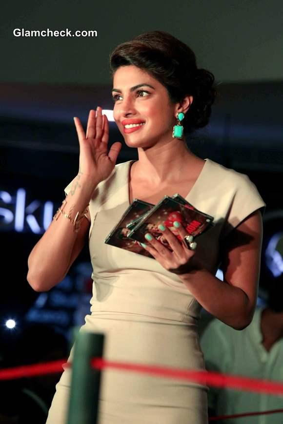 Priyanka Chopra 2014 Mary Kom promotion in New Delhi