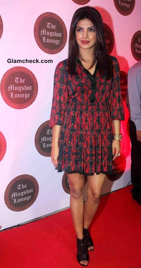 Priyanka Chopra 2014 pics at Mugshot Lounge