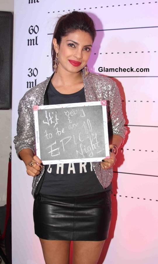 Priyanka Chopra Launches Mugshot Lounge