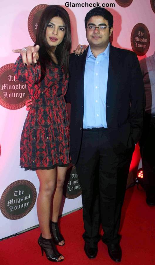 Priyanka Chopra Launches her brother Siddharth Chopras pub-lounge Mugshot Lounge