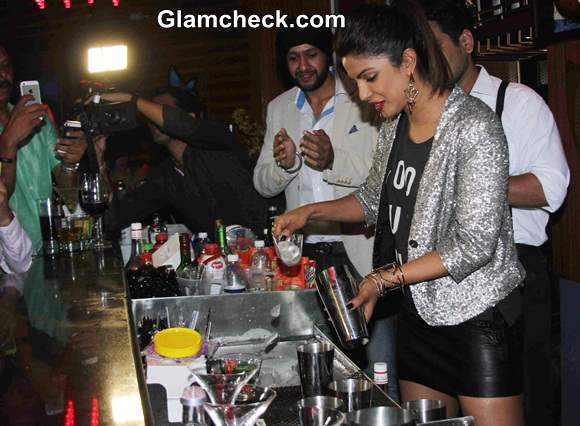 Priyanka Chopra Launches her brothers pub-lounge Mugshot Lounge