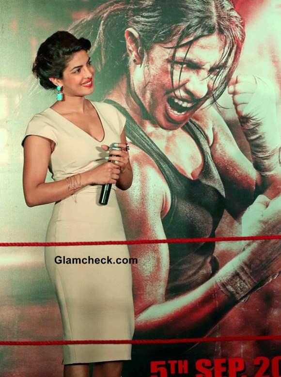 Priyanka Chopra Mary Kom promotion in New Delhi