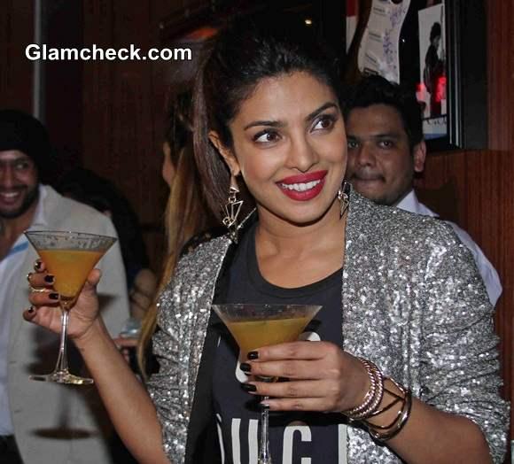 Priyanka Chopra at Mugshot Lounge 2014
