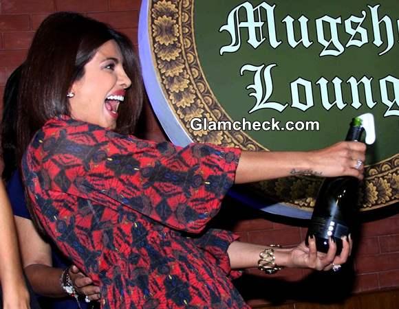 Priyanka Chopra at Mugshot Lounge