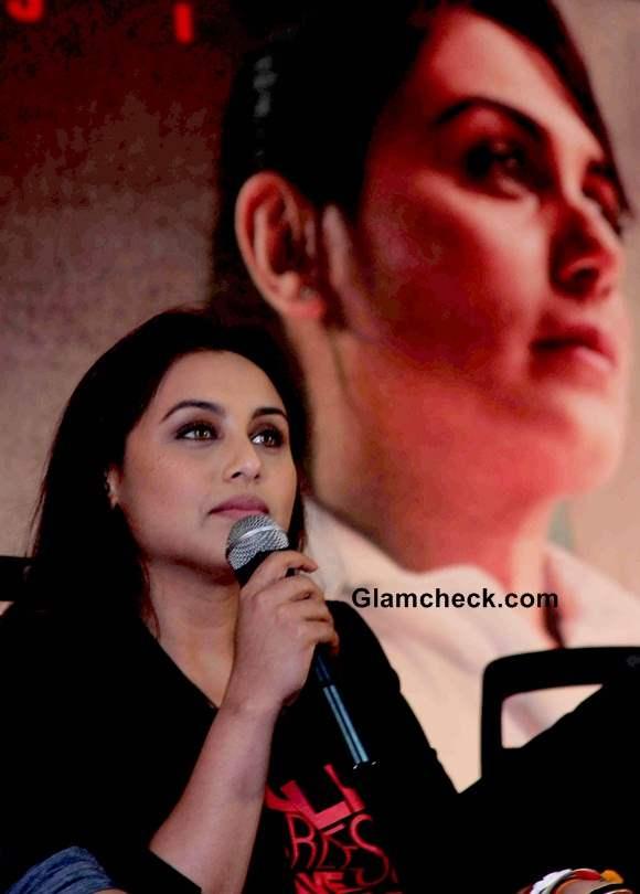 Rani Mukerji at Mardaani Press Meet