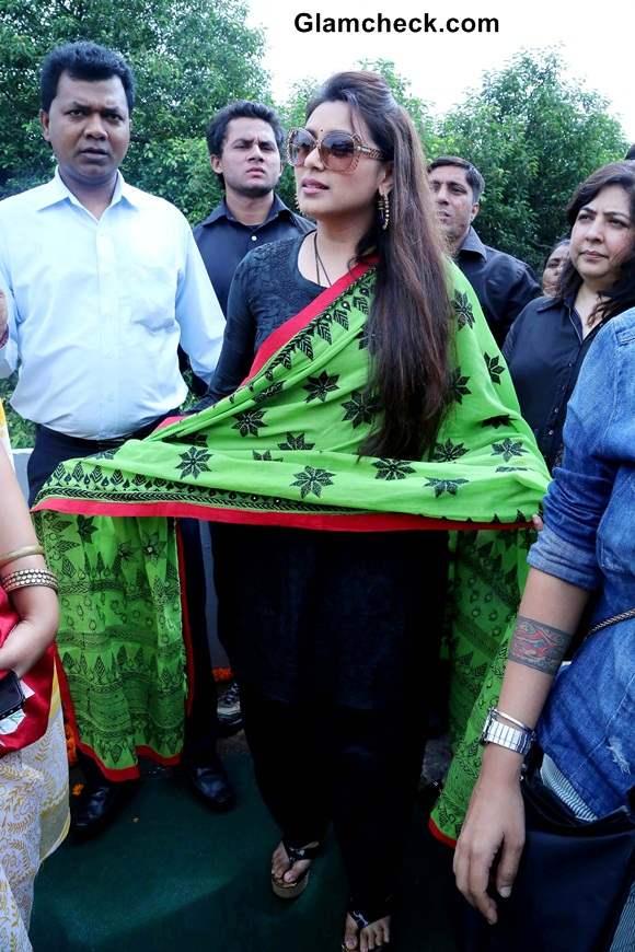 Rani Mukherjee visits anti-trafficking NGO Apne Aap Women Worldwide