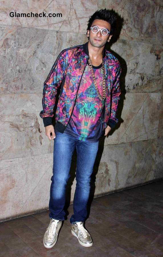 Ranveer Singh at the special screening of Khoobsurat