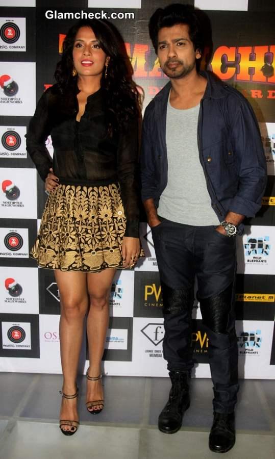 Richa Chadda during the launch of song In Da Club