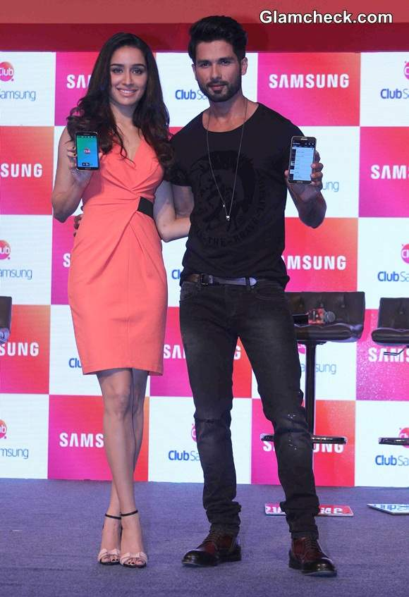 Shraddha Kapoor at the launch of Club Samsung