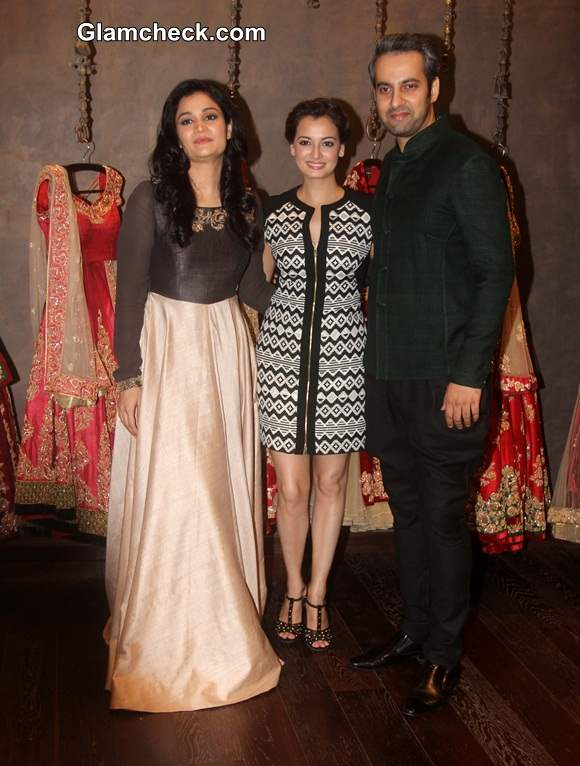 Shyamal and Bhumika launch their Signature Studio along with Bollywood actor Dia Mirza