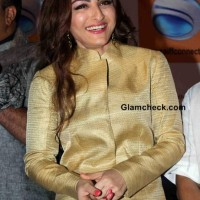 Soha Ali Khan at the launch of portal Saiffconnect