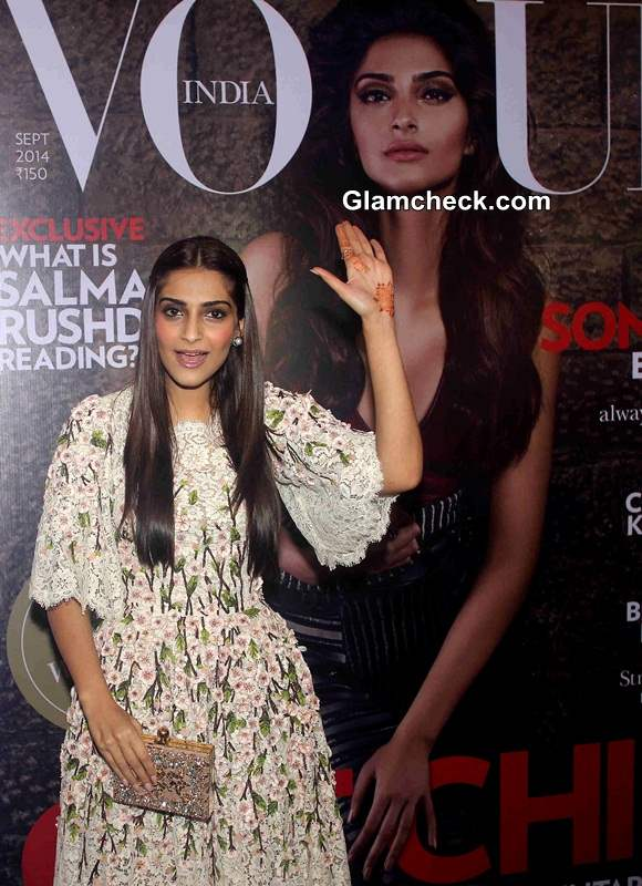 Sonam Kapoor 2014 Vogue Fashion Night Out