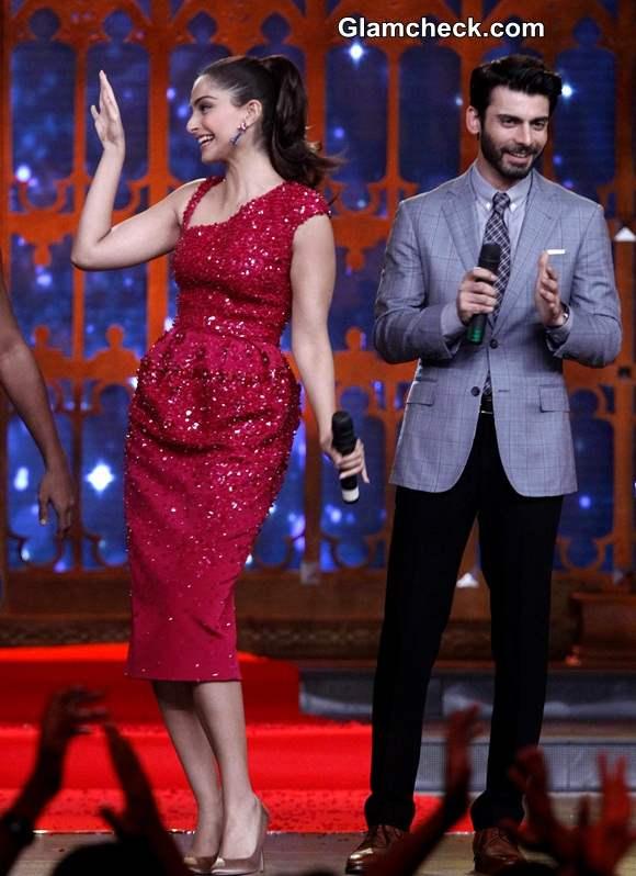 Sonam Kapoor Fawad Khan Promote Khoobsurat