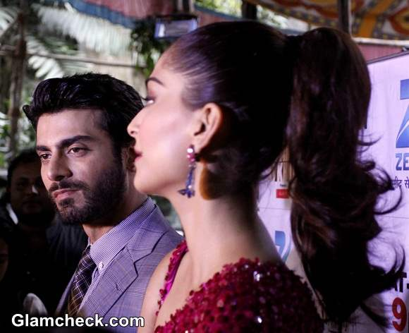 Sonam Kapoor And Fawad Khan On The Sets Of Zee Cine Star