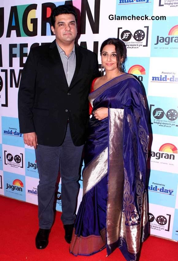 Vidya Balan with her husband and filmmaker Siddharth Roy Kapur