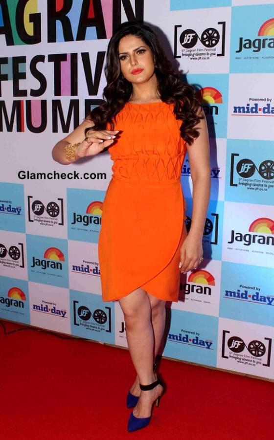 Zarine Khan 2014 Jagran Film Festival