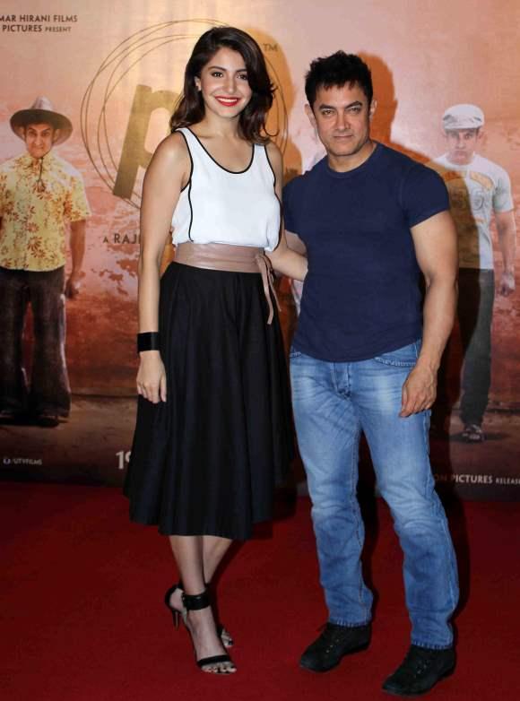 Aamir Khan and Anushka Sharma releases the teaser of film PK on Diwali