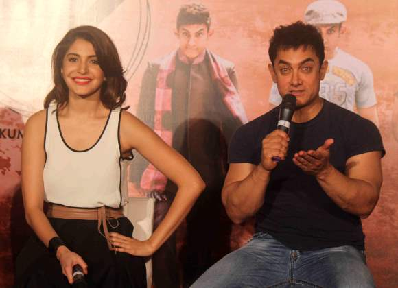 Aamir and Anushka releases the teaser of film PK on Diwali