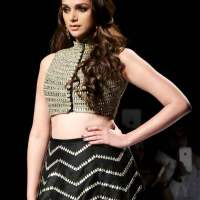 Aditi Rao Hydari for Payal Singhals collection Firdaus for the WIFW 2014