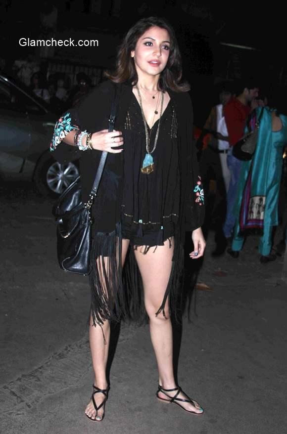 Anushka Sharma at the Screening of Gone girl