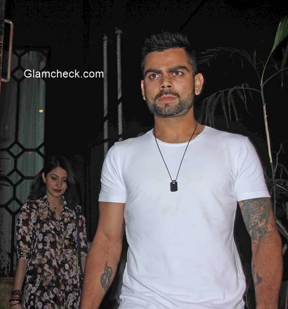 Anushka Sharma spotted with Virat Kohli