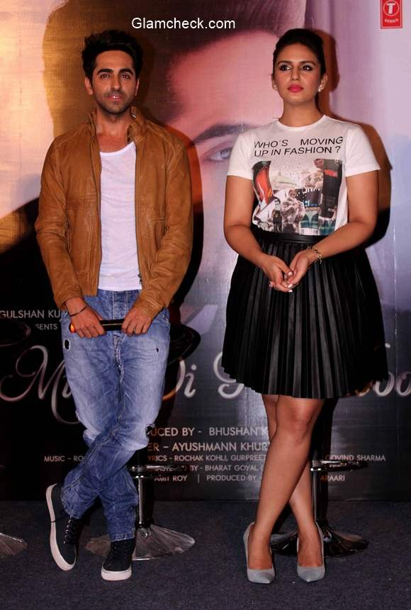 Ayushmann Khurrana unveils his new single Mitti di Khushboo along with Huma Qureshi