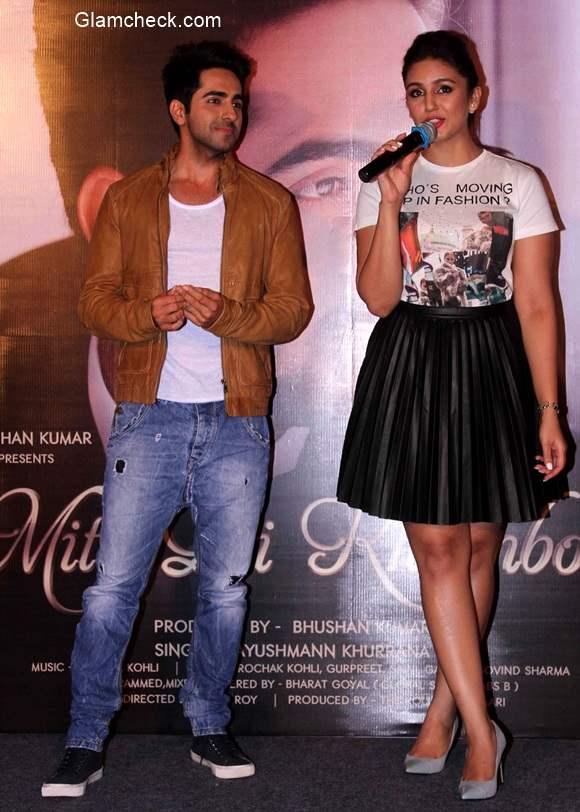 Ayushmann Khurrana unveils his new single Mitti di Khushboo with Huma Qureshi
