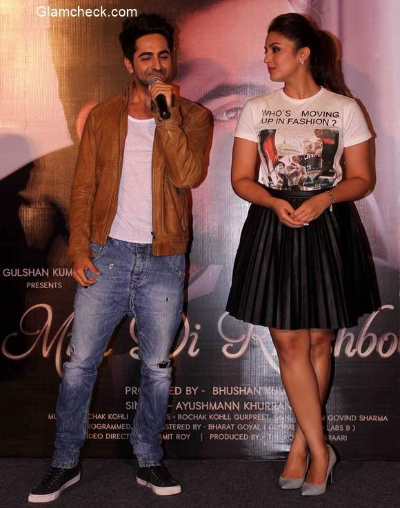 Ayushmann Khurrana unveils new single Mitti di Khushboo with Huma Qureshi