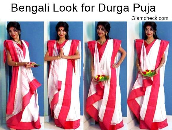 Bengali Look for Durga Puja